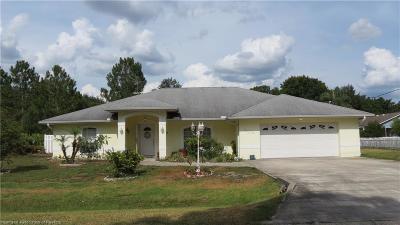 Sebring Single Family Home For Sale: 4410 Cortez Boulevard