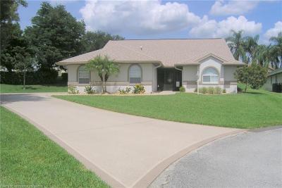 Avon Park, Lake Placid, Sebring Single Family Home For Sale: 37 Acacia Court N