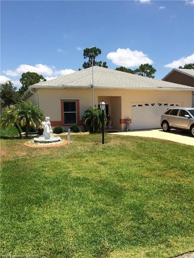 Sebring Single Family Home For Sale: 4630 Vantage Circle