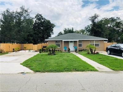 Avon Park FL Single Family Home For Sale: $115,000