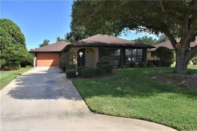 Sebring Single Family Home For Sale: 2810 Sugar Pine Circle