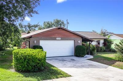 Sebring Single Family Home For Sale: 3214 Cedar Drive
