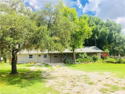 Sebring Single Family Home For Sale: 388 Turkey Lane