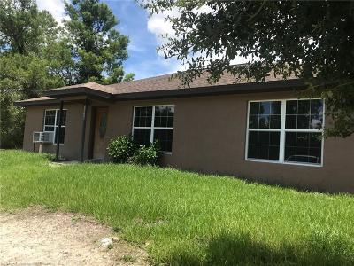 Sebring Single Family Home For Sale: 13320 Christy Street