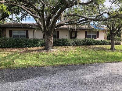 Lake Placid, Avon Park, Lorida, Sebring Single Family Home For Sale: 1478 NE Kiska Street NE