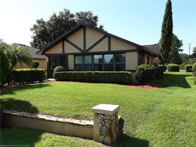 Sebring Single Family Home For Sale: 3022 Summertree Drive
