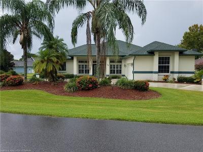 Lake Placid Single Family Home For Sale: 14 Meadowlake Circle N