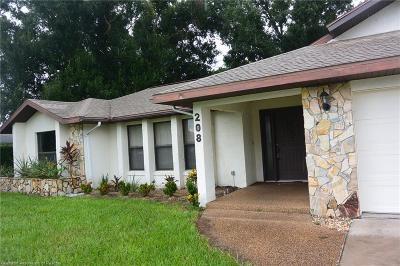 Lake Placid Single Family Home For Sale: 208 Rhapsody Avenue