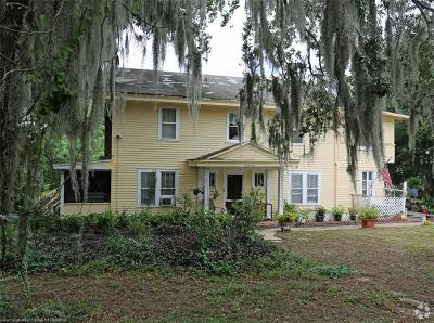 Sebring Multi Family Home For Sale: 1621 Lakeview Drive