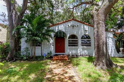 Coral Gables Single Family Home For Sale: 1139 Venetia Ave