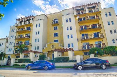Coral Gables Condo/Townhouse For Sale: 322 Madeira Ave #406
