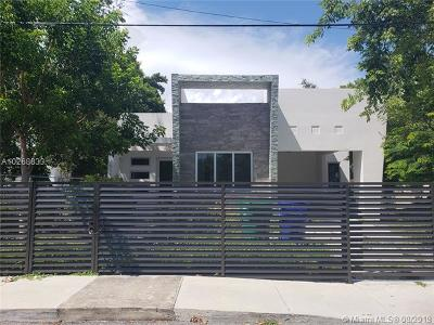 Coconut Grove Single Family Home For Sale: 3655 Florida Ave