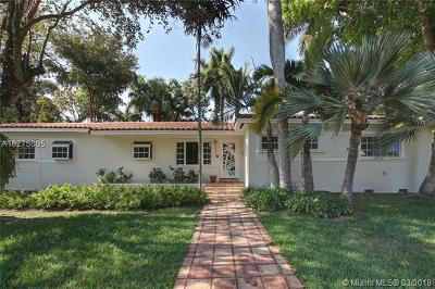 South Miami Single Family Home For Sale: 6045 SW 84th St