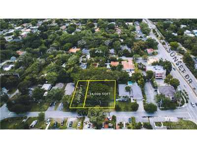 South Miami Single Family Home For Sale: 7240 SW 63rd Ct