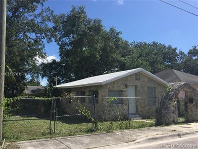South Miami Single Family Home For Sale: 6133 SW 63rd Ter
