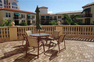 Coral Gables Condo/Townhouse For Sale: 55 Merrick Way #700