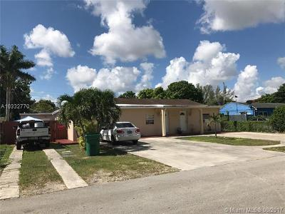 South Miami Single Family Home For Sale: 5850 SW 58th Ter