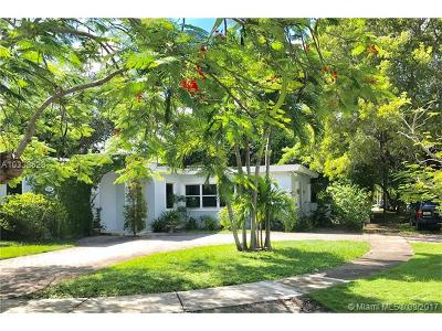 South Miami Single Family Home For Sale: 6234 SW 42nd St