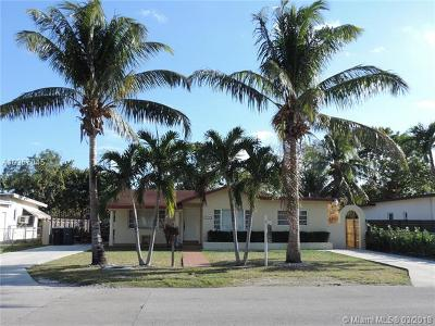 South Miami Single Family Home For Sale: 6534 SW 52nd Ter
