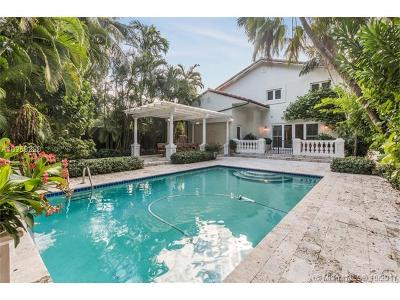 Coconut Grove Single Family Home For Sale: 3609 Solana Rd