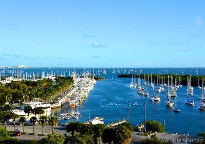 Coconut Grove Condo/Townhouse For Sale: 2843 S Bayshore Dr #9E