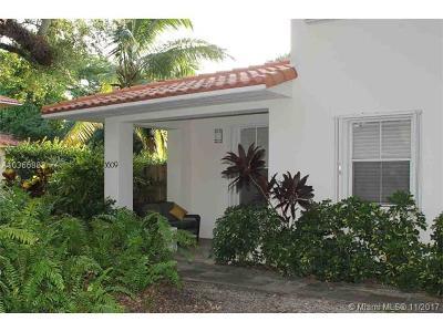 Coconut Grove Condo/Townhouse For Sale: 3609 S Douglas Rd #5
