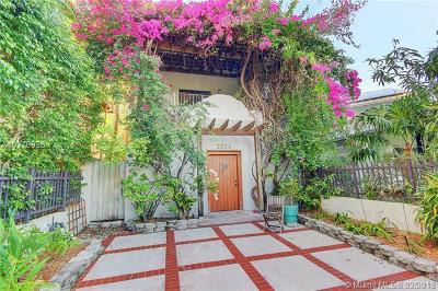 Coconut Grove Single Family Home For Sale: 2553 Trapp Ave