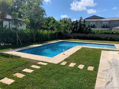 South Miami Single Family Home For Sale: 6150 SW 80th St.