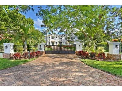 Pinecrest FL Single Family Home For Sale: $4,099,000
