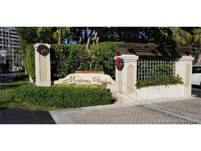 Pinecrest Condo/Townhouse For Sale: 8601 SW 68th Ct #24