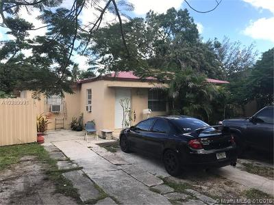 South Miami Single Family Home For Sale: 6441 SW 58th Pl