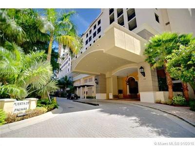 Coral Gables Condo/Townhouse For Sale: 888 S Douglas Rd #1010
