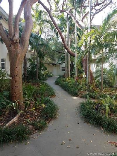 Coconut Grove Condo/Townhouse For Sale: 3000 Bird #1-D