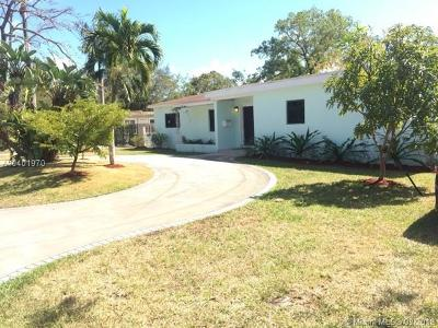 South Miami Single Family Home For Sale: 6210 SW 78th St
