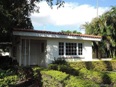 Coral Gables Single Family Home For Sale: 95 Palermo Ave