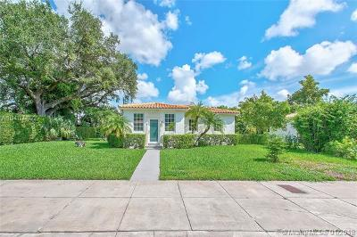 Coral Gables Single Family Home For Sale: 11 Veragua Ave