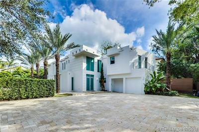 Coconut Grove Single Family Home For Sale: 3917 S Le Jeune Rd