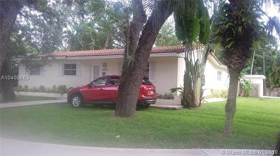 South Miami Single Family Home For Sale: 6490 Sunset Dr