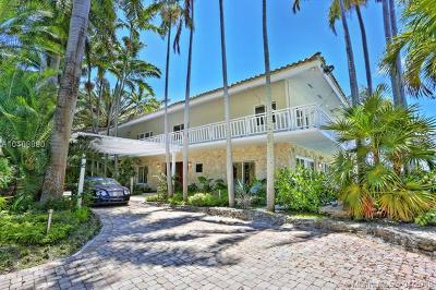 Coconut Grove Single Family Home For Sale: 3577 Stewart Ave