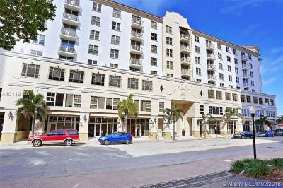 Coral Gables Condo/Townhouse For Sale: 2030 Douglas Rd #515