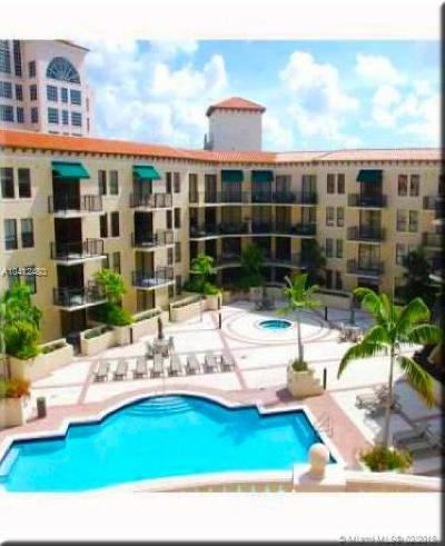 Coral Gables Condo/Townhouse For Sale: 55 Merrick Way #730