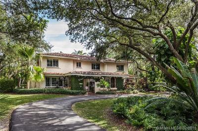 Pinecrest FL Single Family Home For Sale: $1,595,000