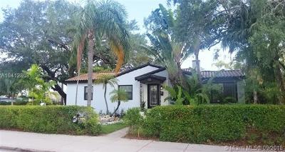Coral Gables Single Family Home For Sale: 135 Ponce De Leon Blvd