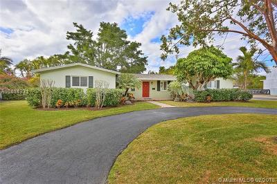 South Miami Single Family Home For Sale: 4800 SW 64th Ct