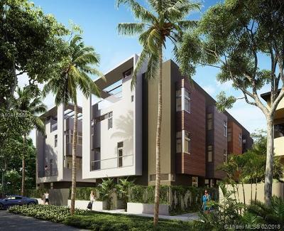 Coconut Grove Condo/Townhouse For Sale: 2924 Bird Ave #1