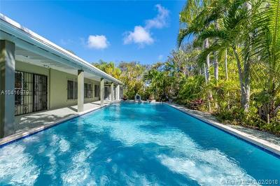 South Miami Single Family Home For Sale: 6522 SW 53rd Ter