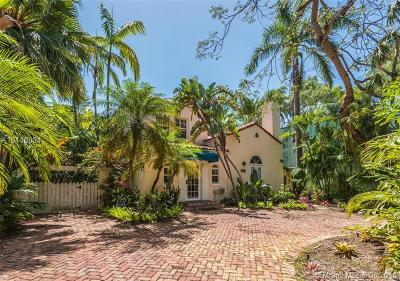 Coconut Grove Single Family Home For Sale: 1782 Opechee Dr