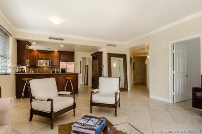 Coral Gables Condo/Townhouse For Sale: 100 Andalusia Ave #512