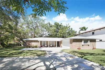 Coconut Grove Single Family Home For Sale: 1755 Tigertail Ave