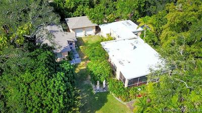 South Miami Single Family Home For Sale: 6810 SW 62nd Ct